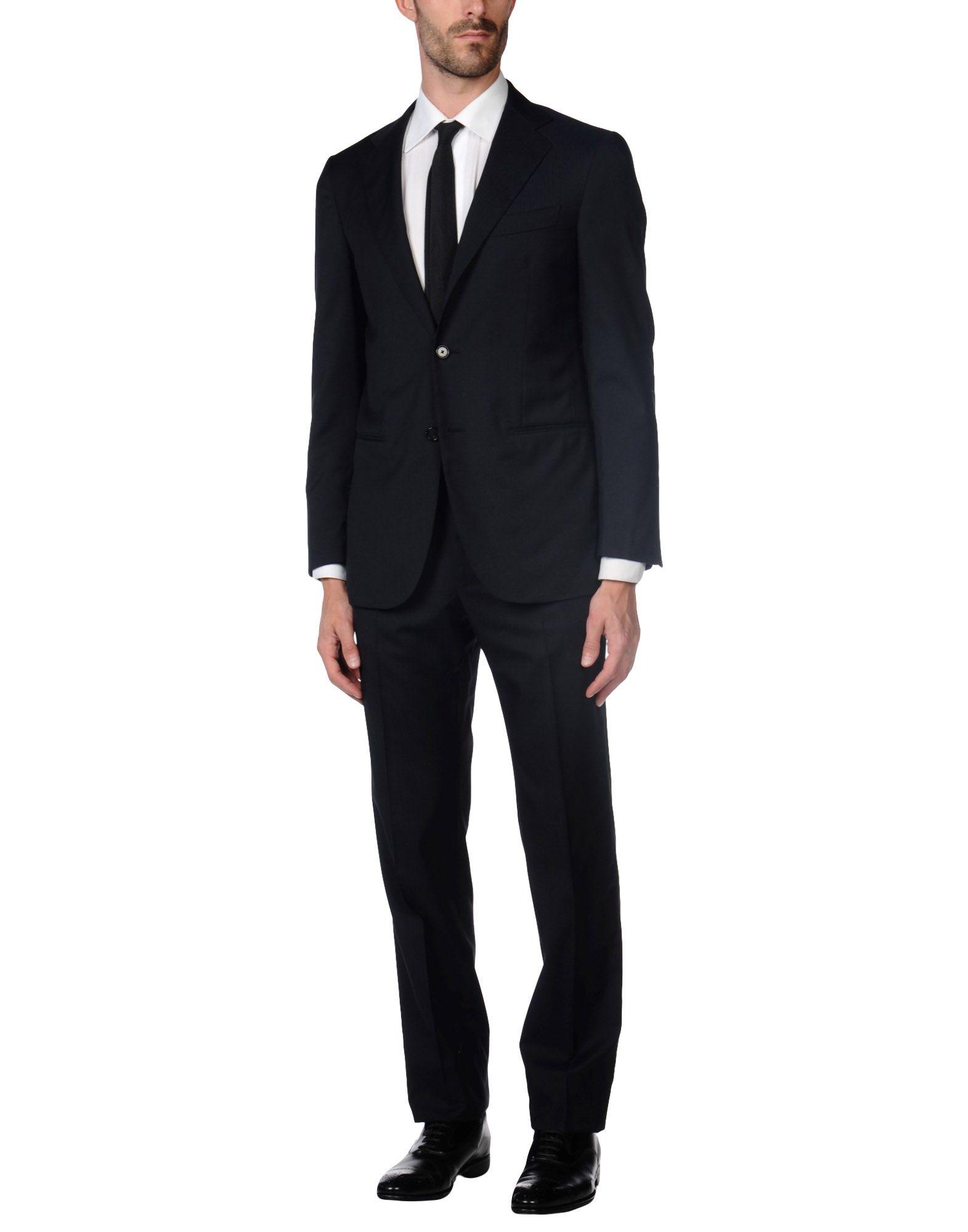 CARUSO Herren Anzug Farbe Dunkelblau Größe 6 jetztbilligerkaufen