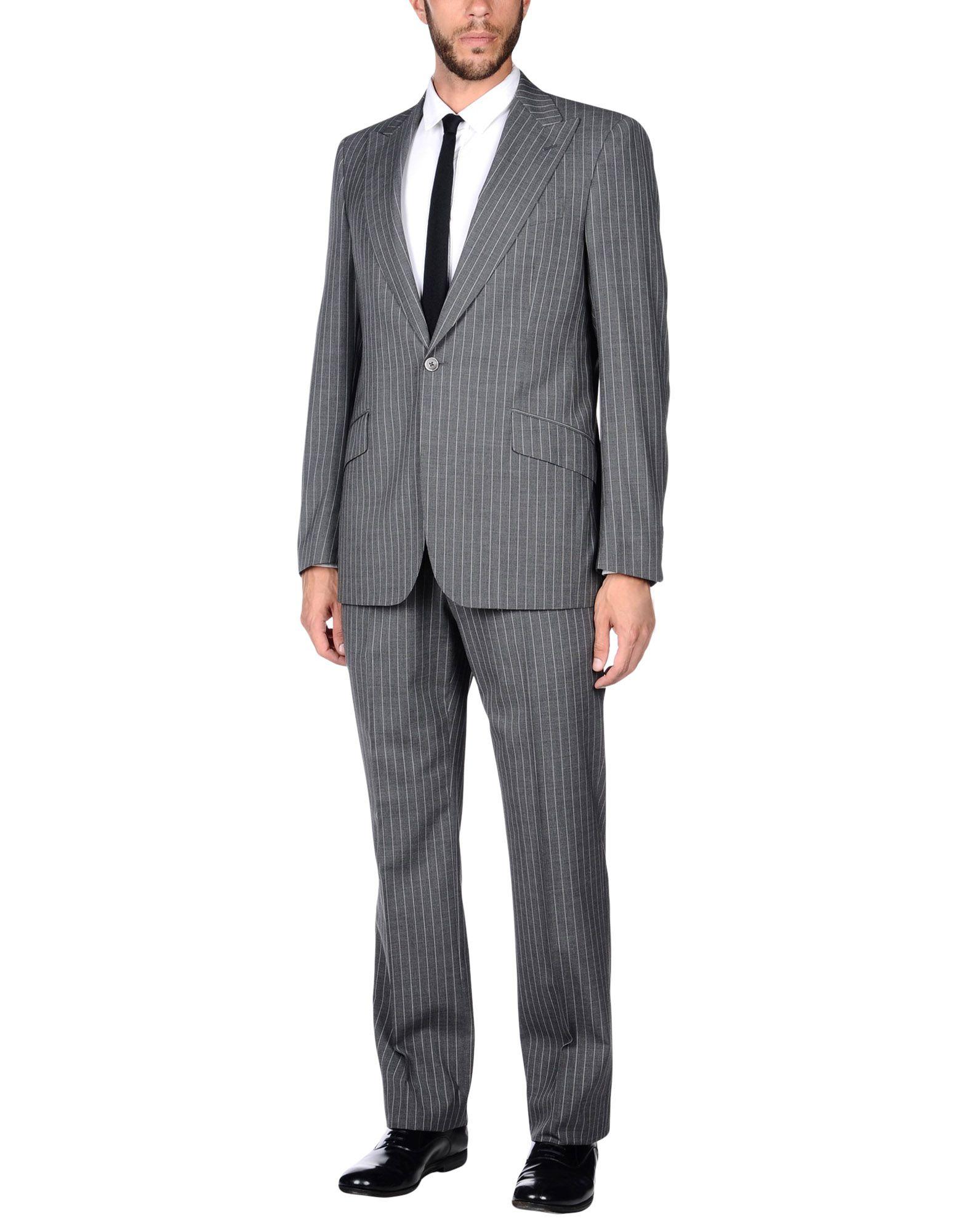 LARDINI Herren Anzug Farbe Grau Größe 5 jetztbilligerkaufen