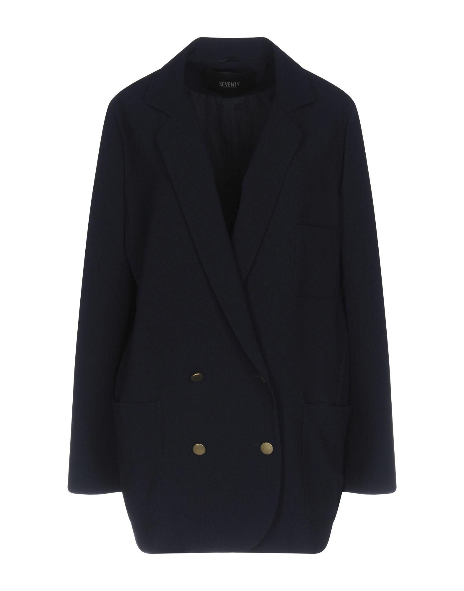 SEVENTY SERGIO TEGON Damen Jackett Farbe Dunkelblau Größe 5 jetztbilligerkaufen