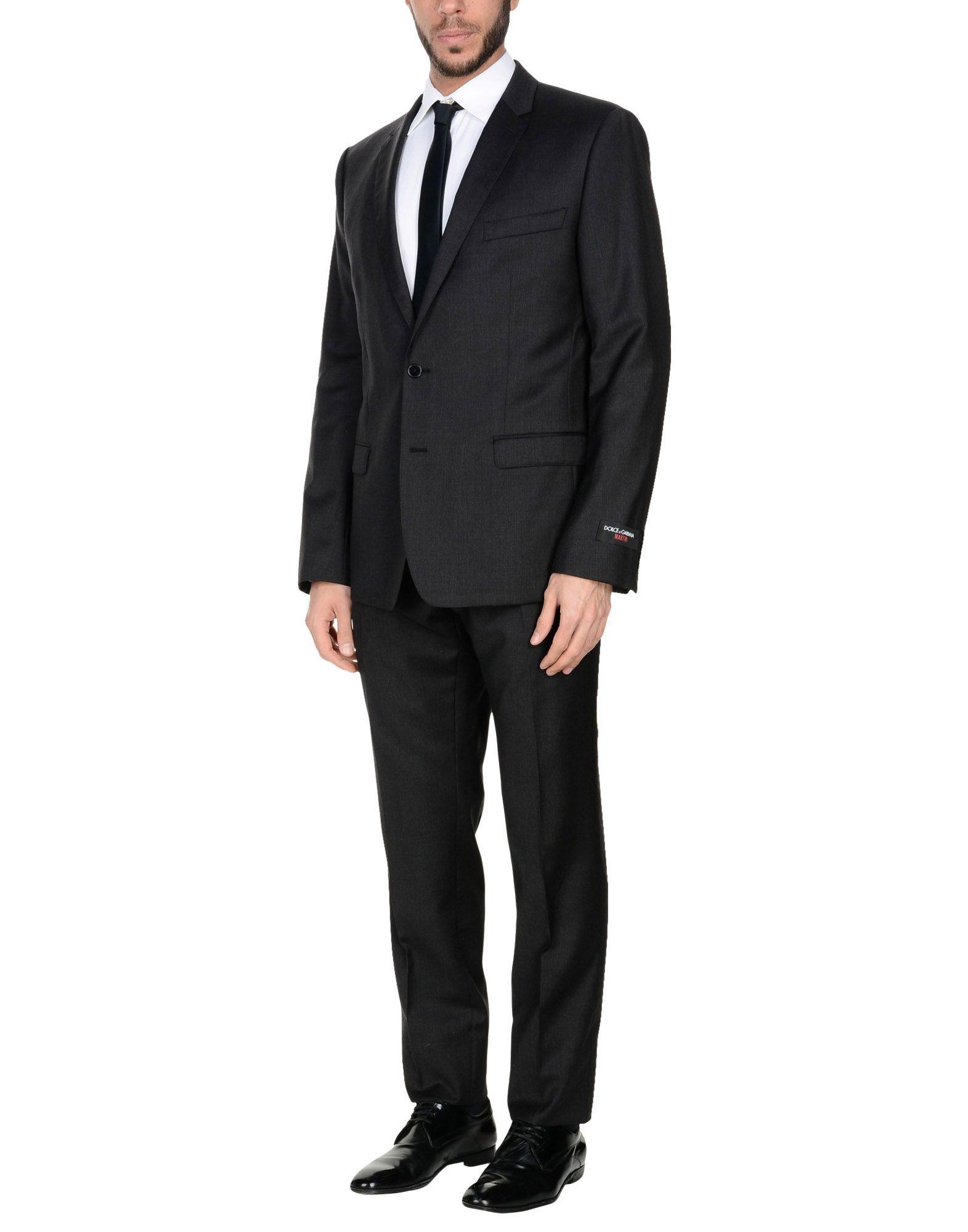 DOLCE & GABBANA Herren Anzug Farbe Granitgrau Größe 6 jetztbilligerkaufen