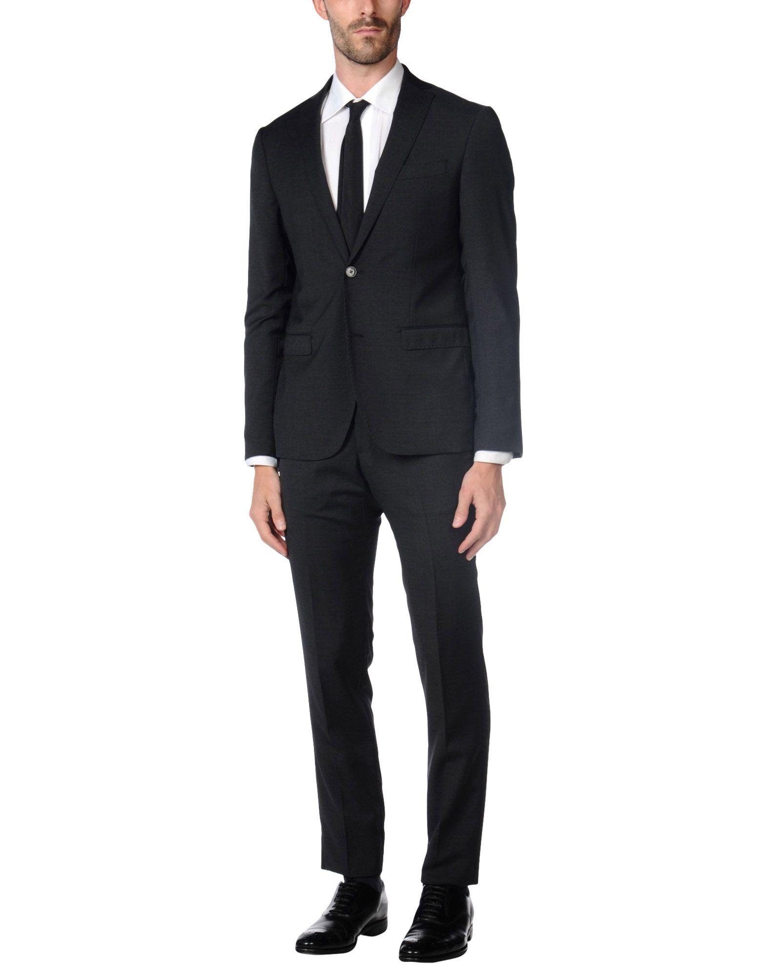 DOMENICO TAGLIENTE Herren Anzug Farbe Granitgrau Größe 5 jetztbilligerkaufen