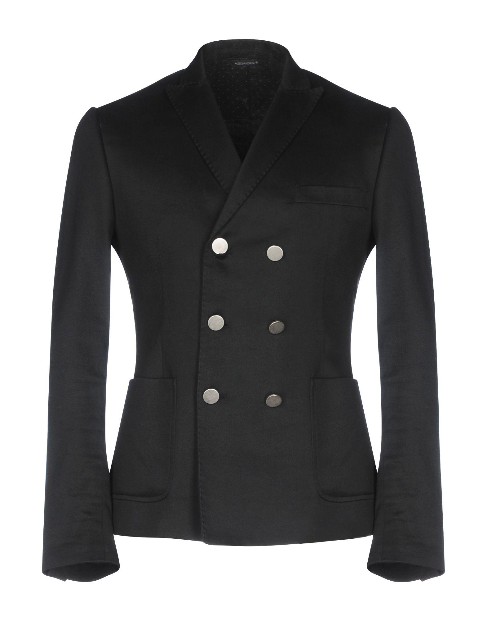 GREY DANIELE ALESSANDRINI Blazers in Black