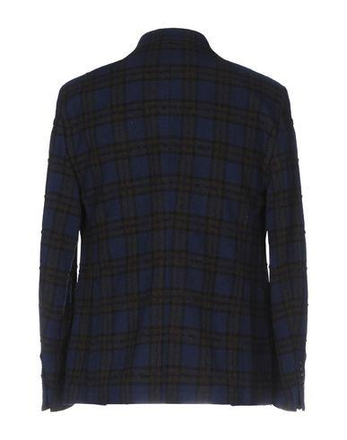 Фото 2 - Мужской пиджак JAKKE темно-синего цвета