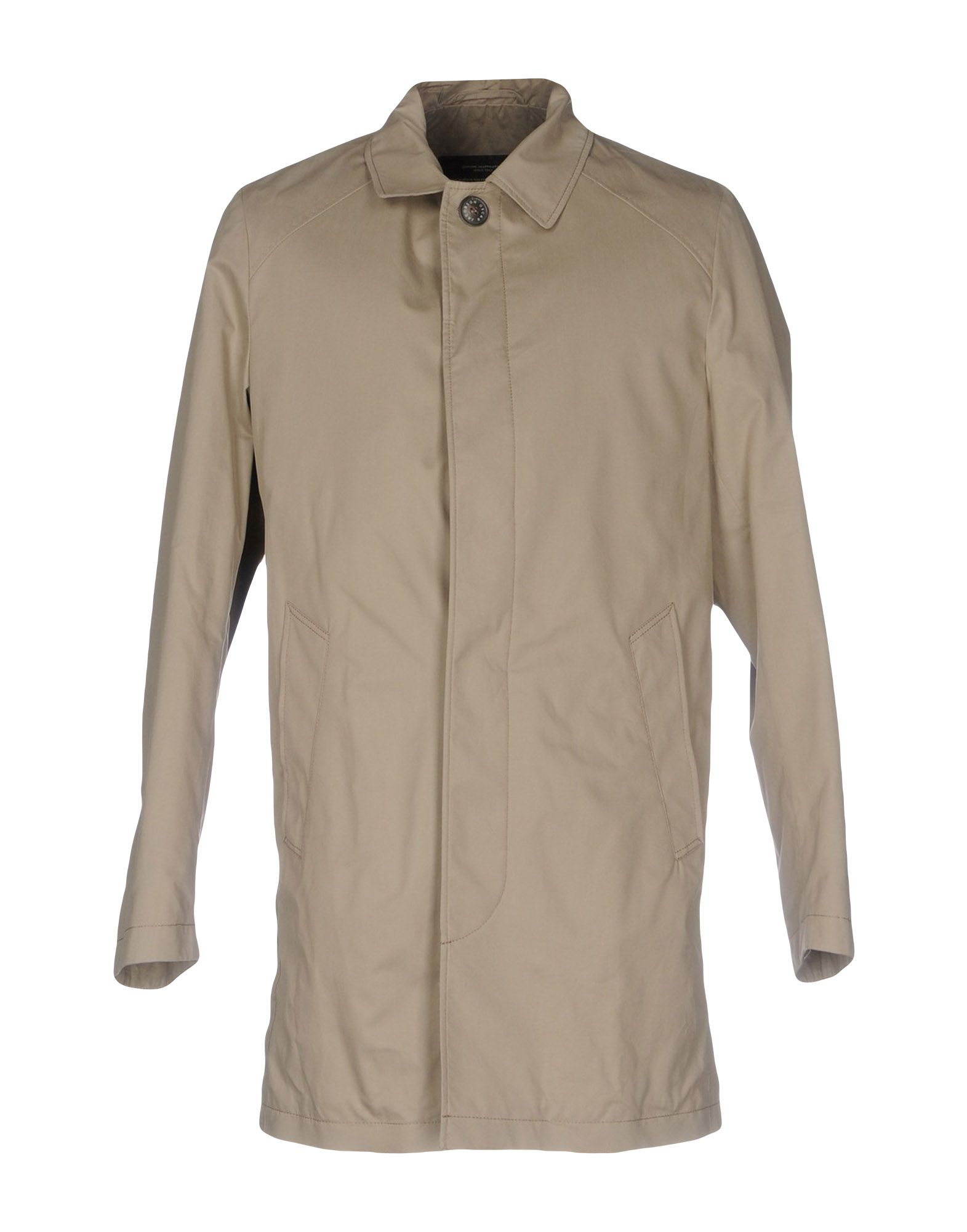 OSCAR JACOBSON Full-Length Jacket in Grey