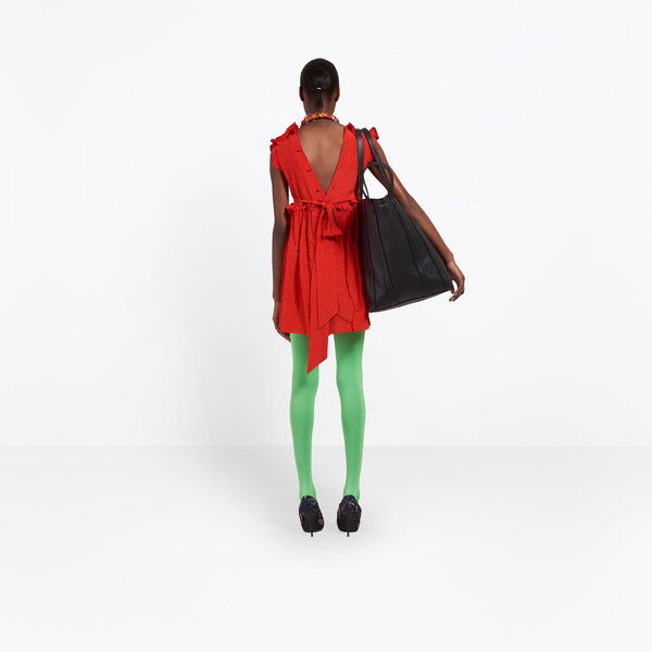 BALENCIAGA Dress Woman Baby Doll Plastron Dress h