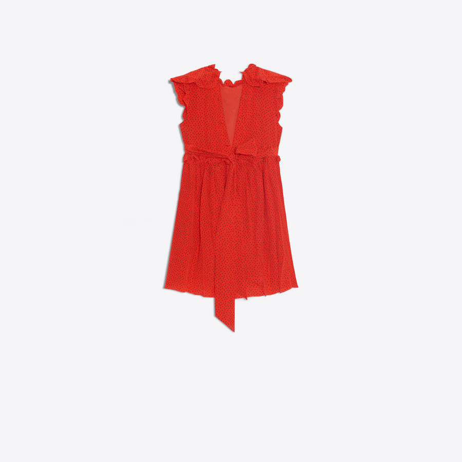 BALENCIAGA Baby Doll Plastron Dress Dress D d