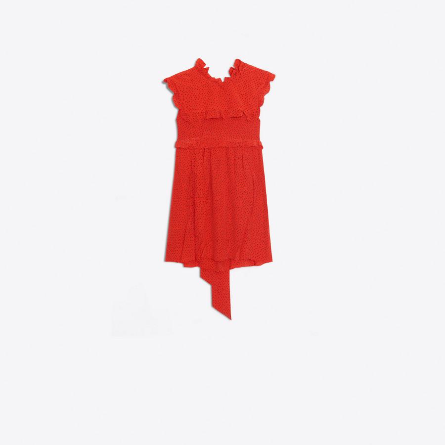 BALENCIAGA Baby Doll Plastron Dress Dress Woman f