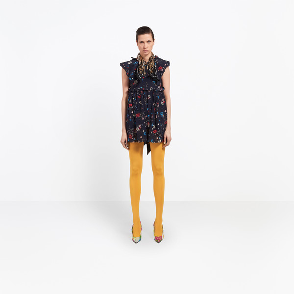 BALENCIAGA Dress D Baby Doll Plastron Dress g