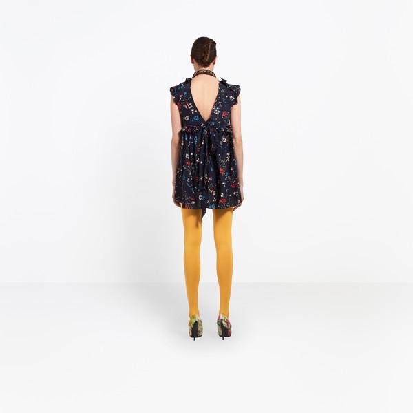 BALENCIAGA Dress D Baby Doll Plastron Dress h