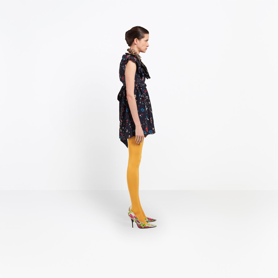BALENCIAGA Baby Doll Plastron Dress Dress Woman i
