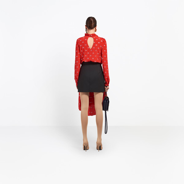 BALENCIAGA Dress D Hybrid V Neck Dress h