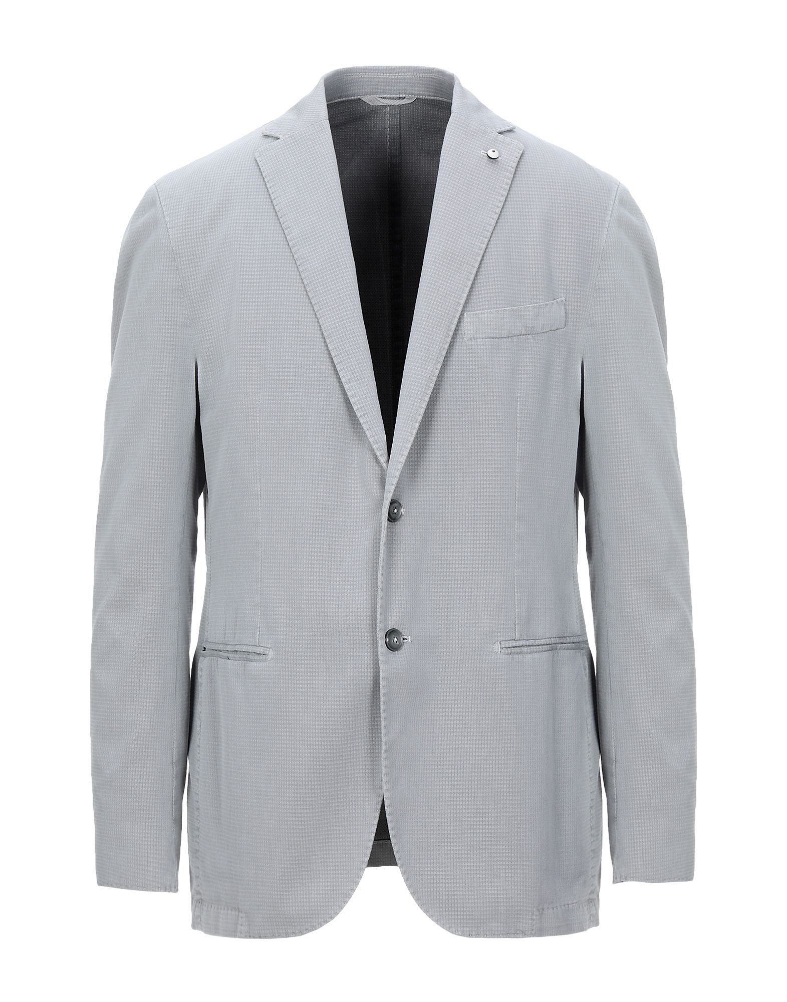 《セール開催中》L.B.M. 1911 メンズ テーラードジャケット グレー 54 コットン 85% / ナイロン 15%