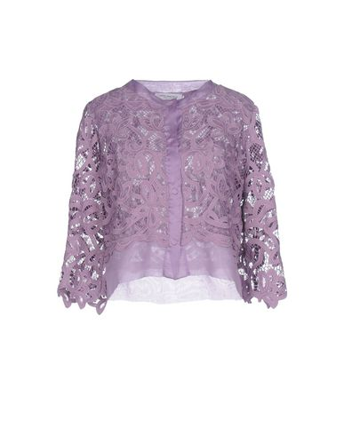 Фото - Женский пиджак  фиолетового цвета