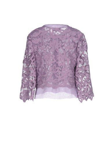 Фото 2 - Женский пиджак  фиолетового цвета