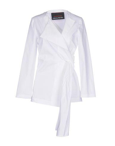 Фото - Женский пиджак COLLECTION PRIVĒE? белого цвета