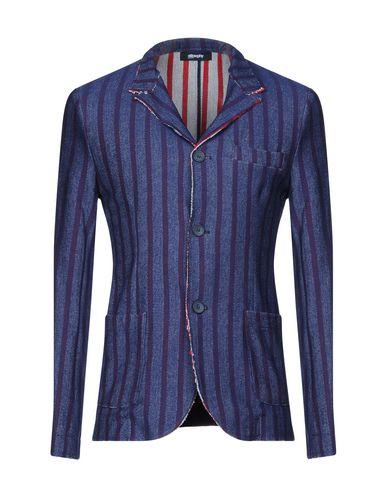 Купить Мужской пиджак STILOSOPHY INDUSTRY темно-синего цвета