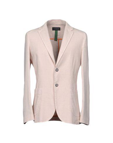 Фото - Мужской пиджак IANUX #THINKCOLORED светло-розового цвета