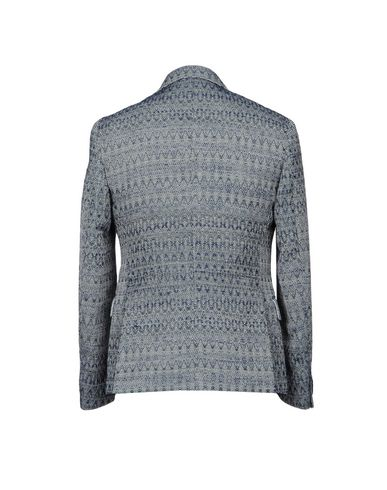 Фото 2 - Мужской пиджак BRIAN DALES темно-синего цвета