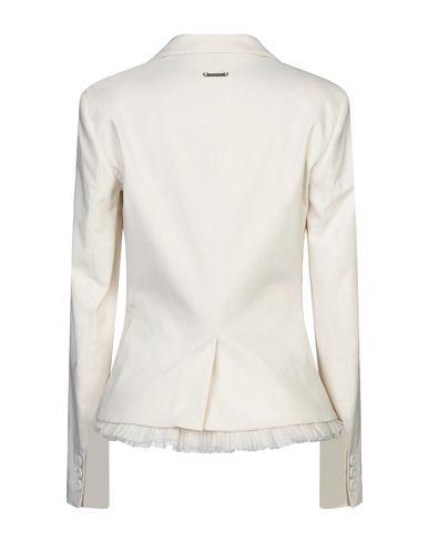 Фото 2 - Женский пиджак TWINSET цвет слоновая кость