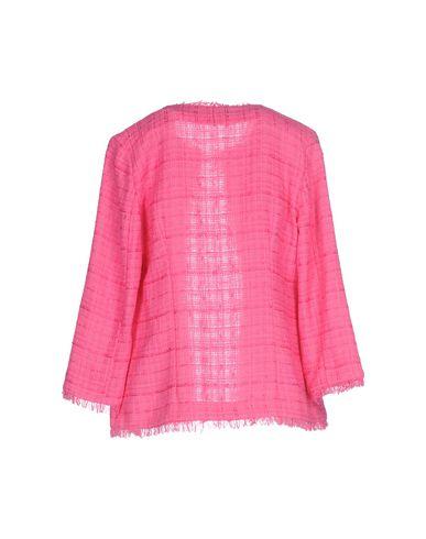 Фото 2 - Женский пиджак  цвета фуксия