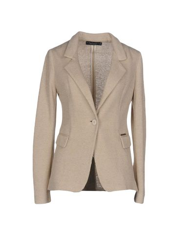 Фото - Женский пиджак TWINSET бежевого цвета