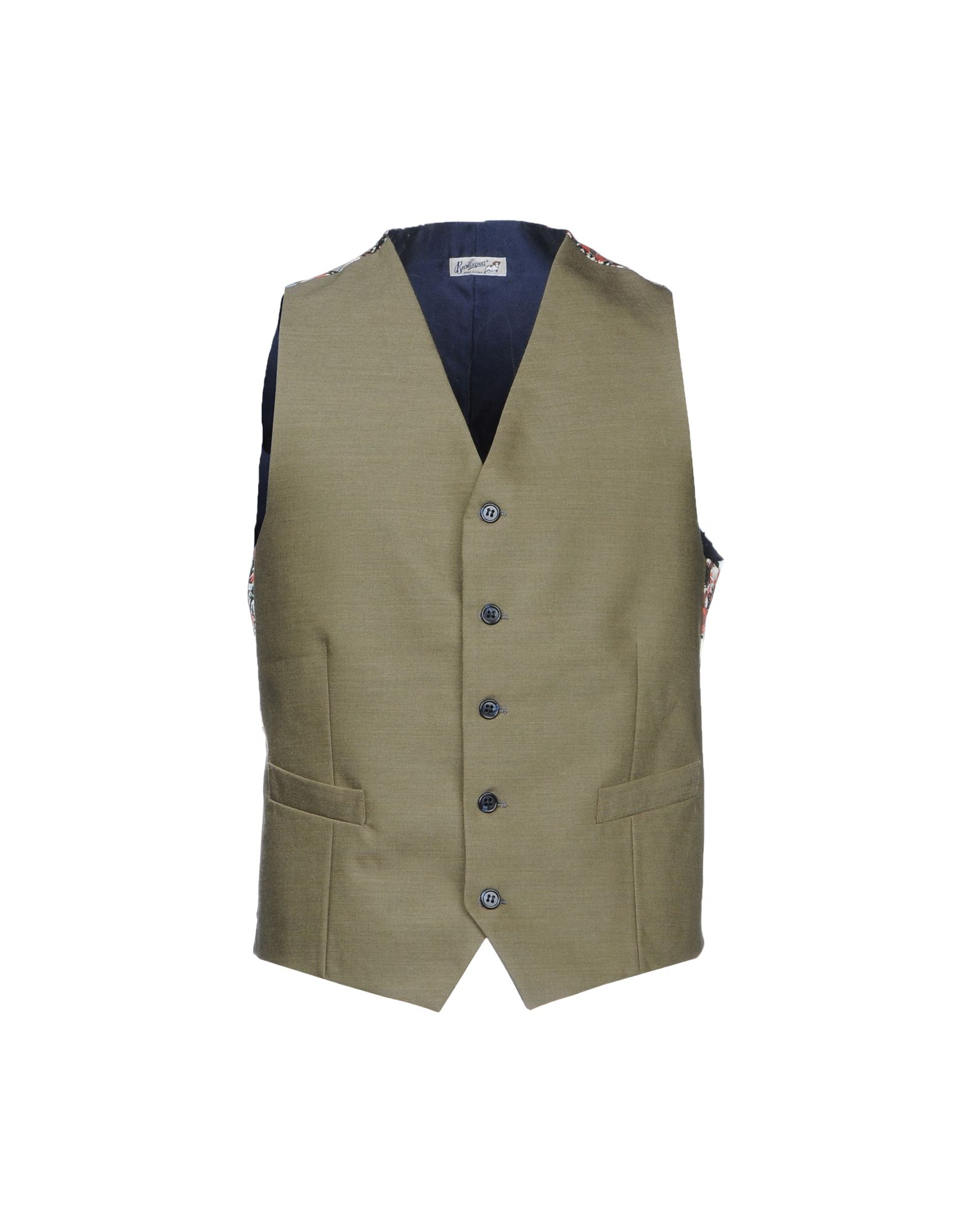 BEVILACQUA Suit Vest in Military Green