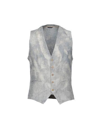 Купить Мужской жилет  серого цвета
