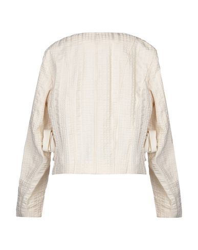Фото 2 - Женский пиджак SPORTMAX бежевого цвета