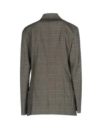 Фото 2 - Мужской пиджак  серого цвета