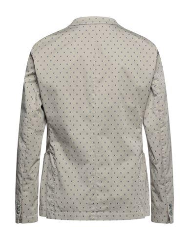 Фото 2 - Мужской пиджак  светло-серого цвета