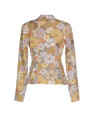 Фото 2 - Женский пиджак ANNARITA N. желтого цвета