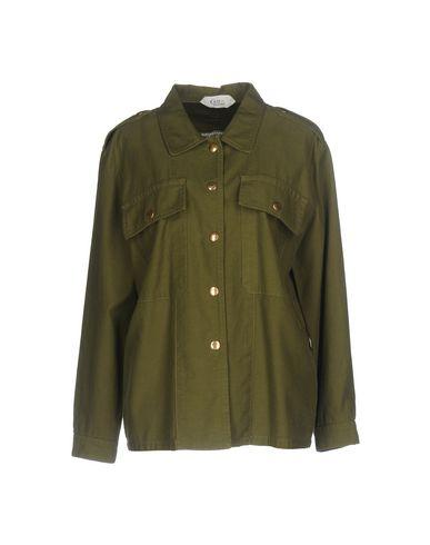 Фото - Женский пиджак  цвет зеленый-милитари