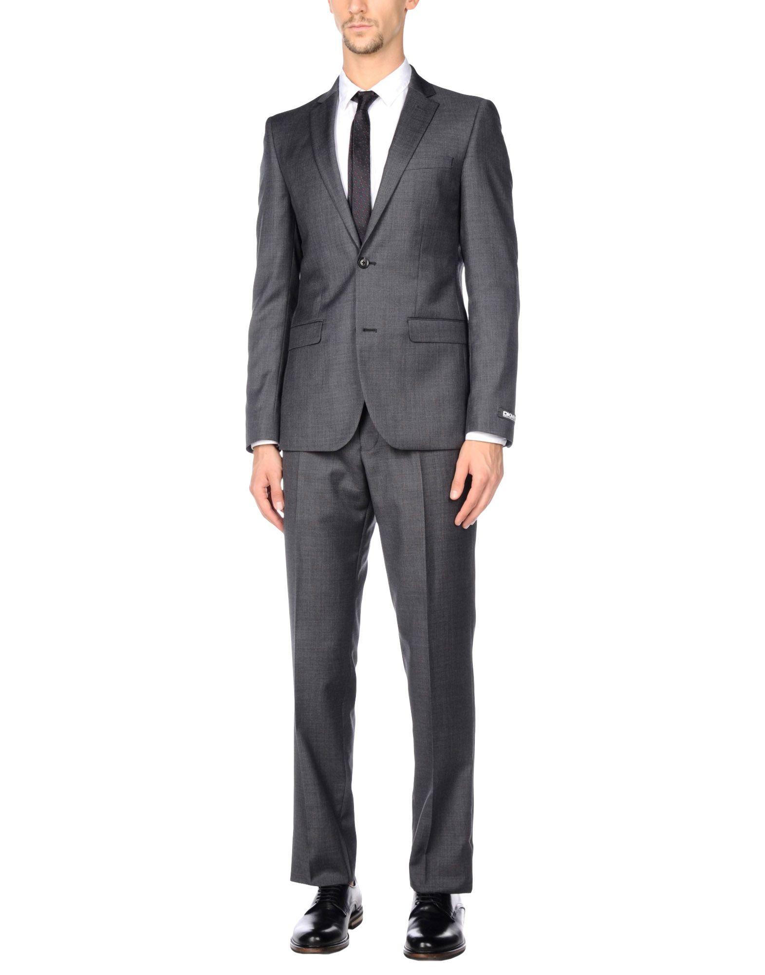 DKNY Herren Anzug Farbe Blei Größe 5
