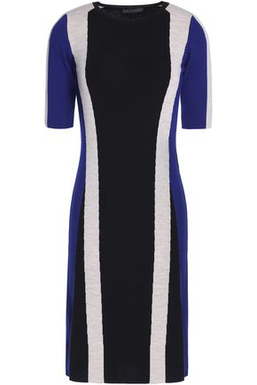 BELSTAFF Color-block wool dress