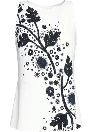 PETER PILOTTO Printed cady top
