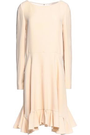 CHLOÉ Fluted crepe dress