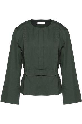 CARVEN Cotton-poplin blouse