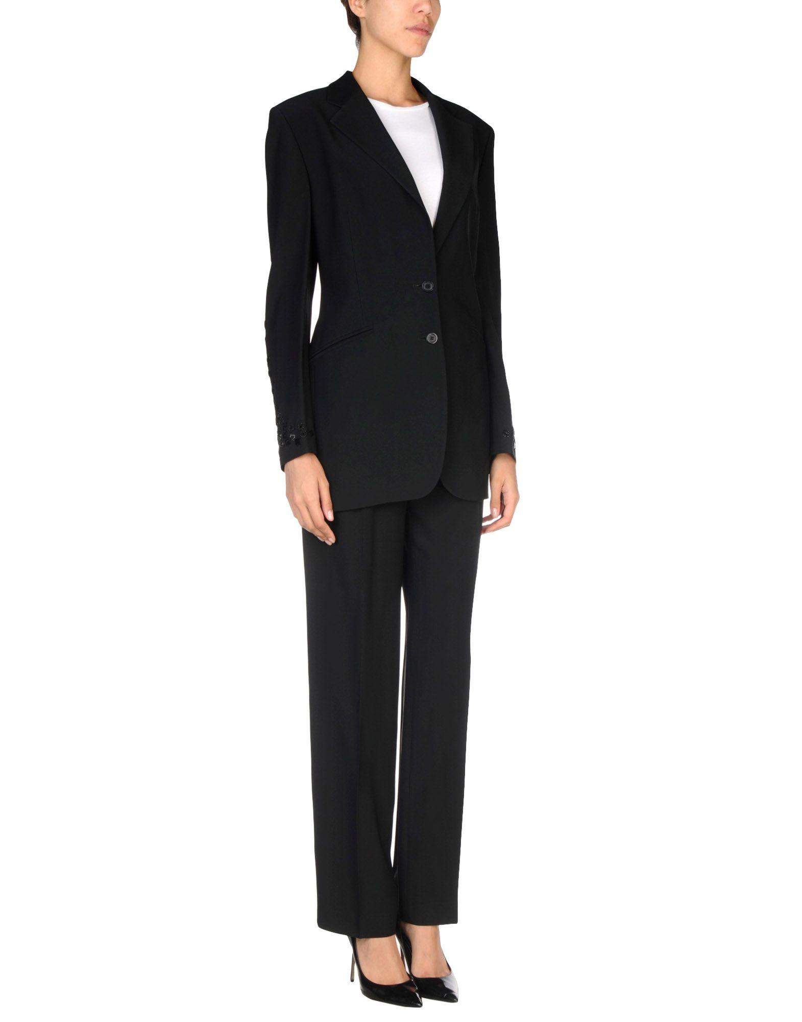 FUSCO ANTONIO Damen Kostüm Farbe Schwarz Größe 6