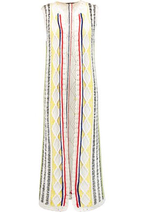 ALICE + OLIVIA Rudy cable-knit cotton-blend vest