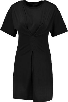 MARC BY MARC JACOBS Pleated piqu&eacute mini dress