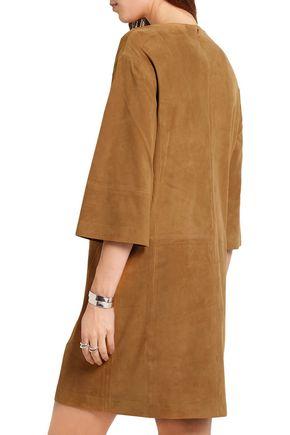 VINCE. Suede mini dress