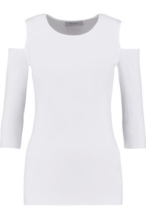 BAILEY 44 Deneuve cold-shoulder stretch-jersey top