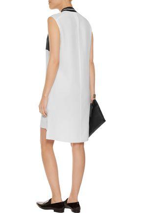 RAG & BONE Nico silk crepe de chine and satin mini dress