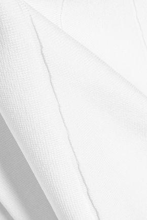 CUSHNIE ET OCHS Cutout stretch-knit mini dress
