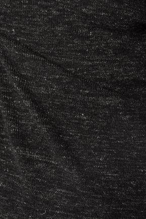 CURRENT/ELLIOTT The Melange wool and linen-blend sweater dress