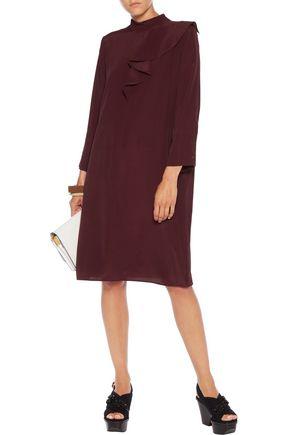 MARNI Draped crepe dress