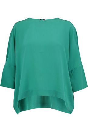 MARNI Silk crepe de chine top