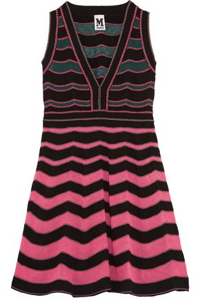 M MISSONI Cotton-blend mini dress