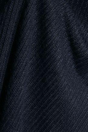 SPLENDID Layered striped stretch-jersey dress
