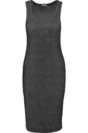 SPLENDID Ribbed knit tank dress